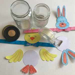 A FREE DOWNLOAD Easter jars