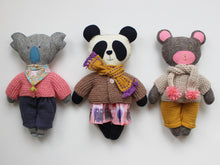 Load image into Gallery viewer, Make a Bear & Dress it up - physical pattern