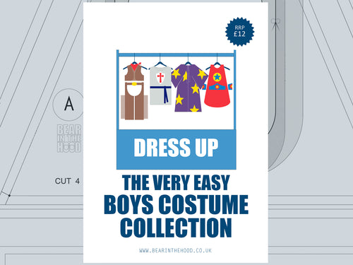 DRESS UP SEWING PATTERN - BOYS