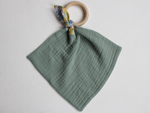 MUZZY TEETHING RING - GREEN