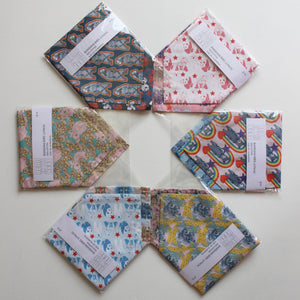 NECKERCHIEF BIB SET - Rainbow Bears