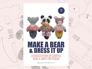 Make a Bear & Dress it up - physical pattern