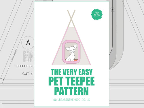 Pet Teepee Pattern
