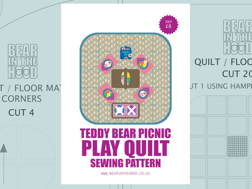 PICNIC PLAY QUILT SEWING PATTERN