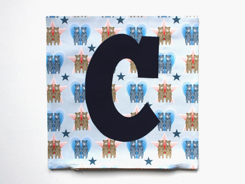 'C' CUSHION COVER (SAMPLE)