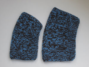 SALE BEAR BALACLAVA blue & brown
