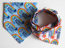Load image into Gallery viewer, NECKERCHIEF BIB SET - Rainbow Bears