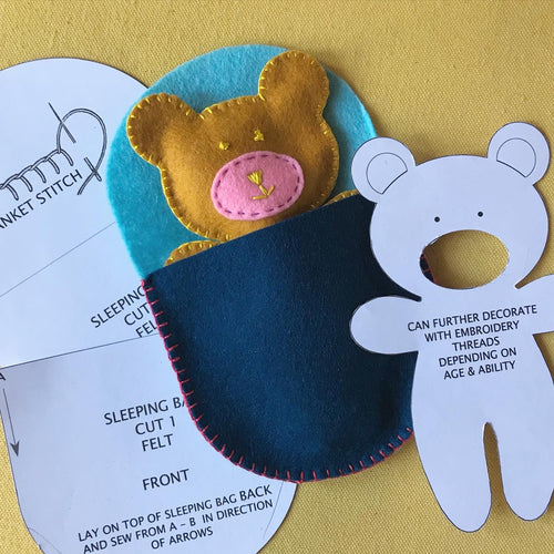Childrens Sew a Bear project DOWNLOAD