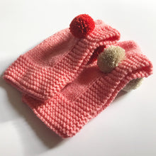 Load image into Gallery viewer, POM POM BALACLAVA - PINK