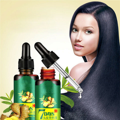 Hair Regrow Oil - Hair Regrowth Serum in 7 Days With Ginger