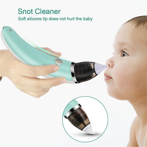 Baby Electric Nasal Aspirator - Infant Nose Snot Booger Cleaner