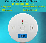 Independent Carbon Monoxide Poisoning Warning Alarm Detector