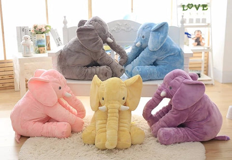 Elephant Stuffed Animal Toy Pillow