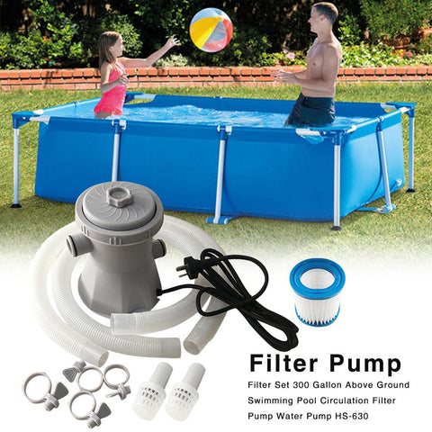 Swimming Pool Sand Filter Above Ground Pump