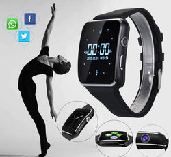 Bluetooth Smart Watch For Android IOS iPhone Samsung Huawei Sony Sleep Tracker
