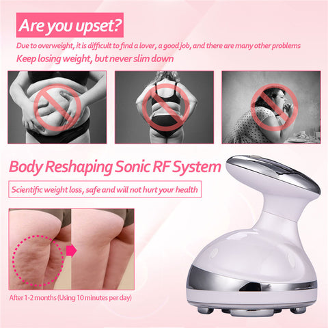 Ultrasonic Weight Loss Fat Burner Slimming Massager Beauty Machine