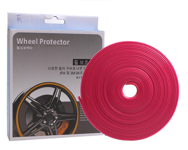 Color Car Wheel Rims Protectors