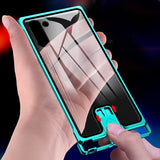 Tempered Glass Case For Samsung Galaxy Note 10 Plus Case Pull-Plus