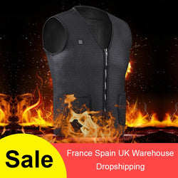 USB Infrared Heated Vest - Body Warmer