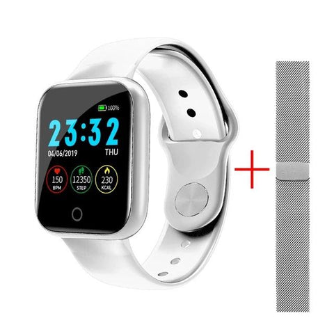Waterproof Heart Rate Monitor Blood Pressure Smart Watch