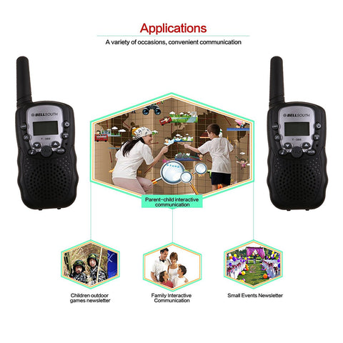 Kids Walkie Talkie Parenting Game Mobile Phone Talking Toy