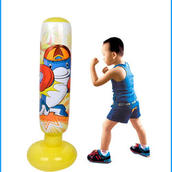 Kid Fitness Inflatable Tumbler Punching Tower Bag
