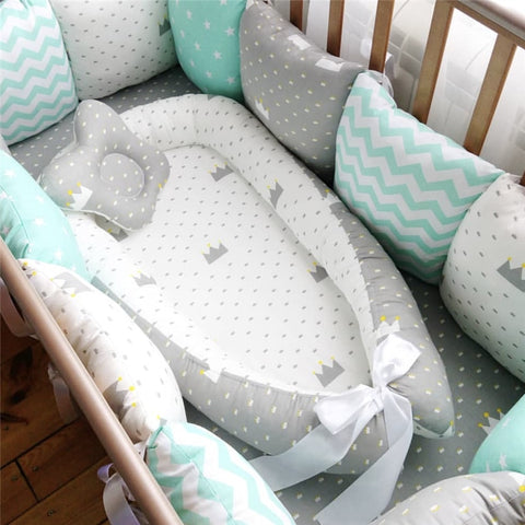 Breathable Nest Baby Nest Bed Portable Crib