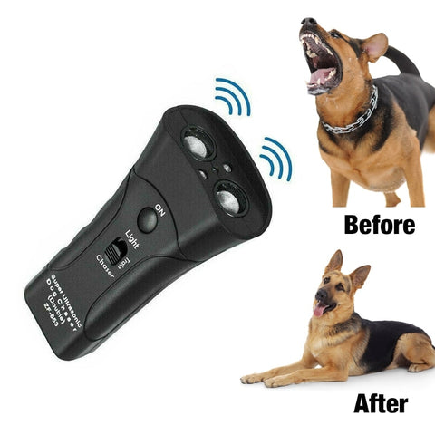 Ultrasonic Bark Control Device