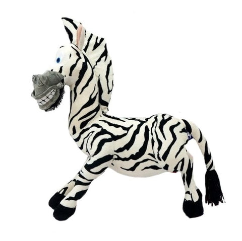 New 20-35cm 6 Styles Madagascar plush toy stuffed soft animal dolls giraffe hippo lion penguin zebra lemurs figure gift for kids