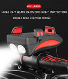 Multi-function Bicycle Head Light