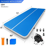 3/4/5/6/8/10m Air Track Tumbling Mat for Gymnastics