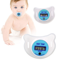 Baby LCD Digital Mouth Pacifier Thermometer