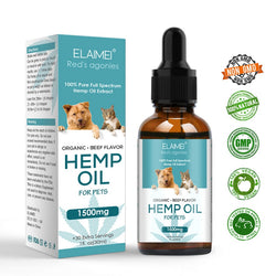 Organic Pet Hemp Oil