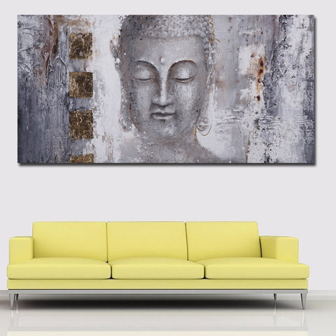Buddha Wall Canvas