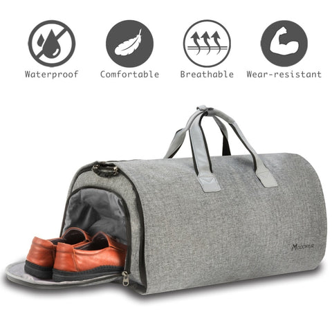 Carry-on Travel Duffel Bag with Shoulder Strap