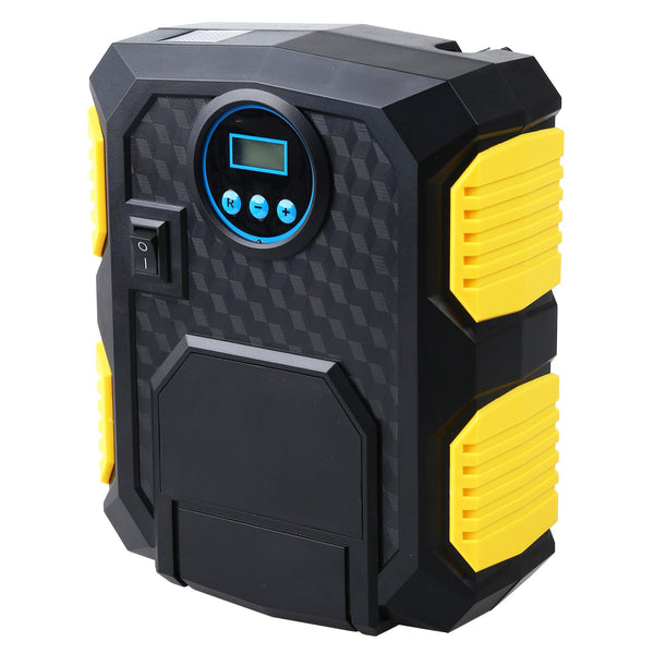 Pro Automatic Tire Inflator - 12V Digital Tyre Compressor