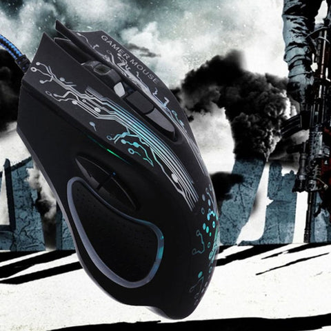 Dragon E-sports optical mouse v7