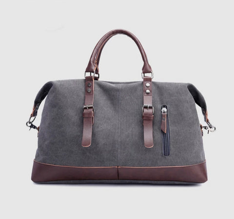 Canvas Leather Mens Bag
