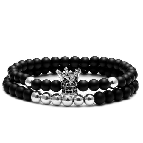The Crown Beaded Bracelet V2
