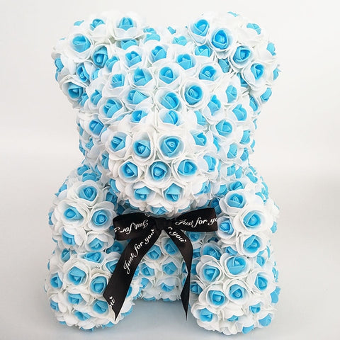 HANDMADE LUXURY ROSE BEAR