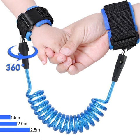 1.5-2.5m  Safety Adjustablee Baby Walker Wristband Leash