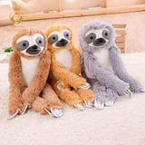 1PCS 75cm cute simulation long arm sloth plush stuffed toy girlfriend pillow child toy birthday gift