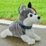 Kids Electronic Toys The Dog Robot Talking Puppy Furry Toys Interactive Funny Smart Robot Dog Toys For Boys Talking