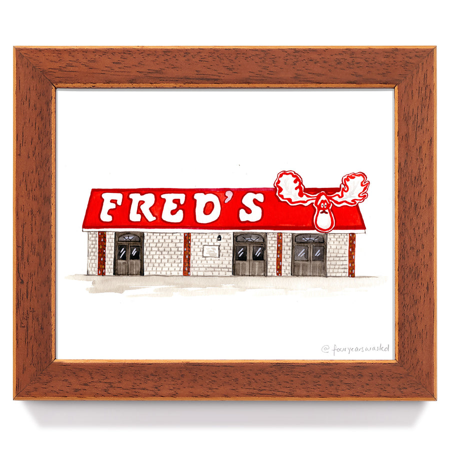 Fred's (LSU) - Four Years Wasted