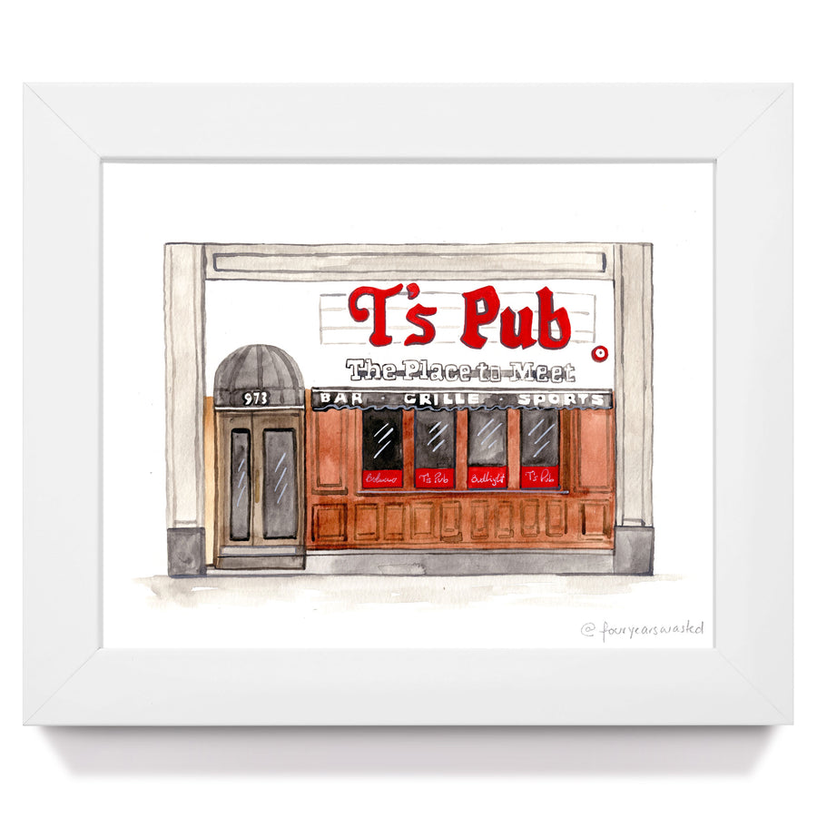 T's Pub (BU) - Four Years Wasted