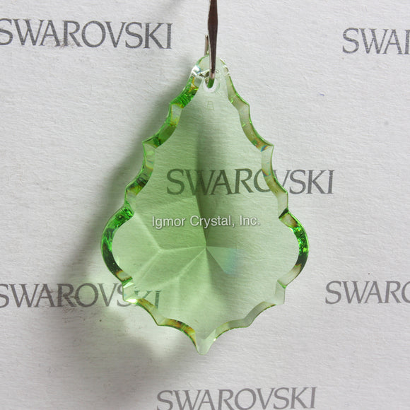 SWAROVSKI® STRASS 8901-38MM Pendalogue *Light Peridot* (8PCS)