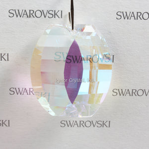 SWAROVSKI® STRASS 8950-0031-38MM View Prism *Blue AB* (4PCS)