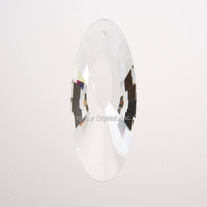 76mm Radial Faceted Oblong Prism