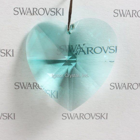 SWAROVSKI® STRASS 8781-40MM Heart Pendant *Antique Green*