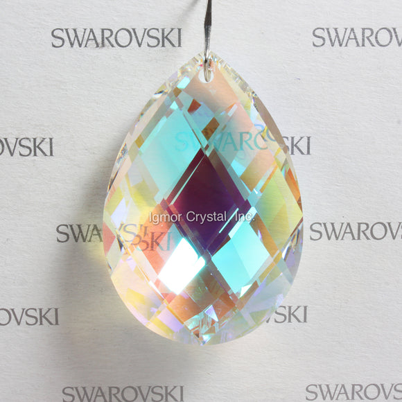 SWAROVSKI® SPECTRA 8290-8741-50MM Swedish Pear *Blue AB* (6PCS)